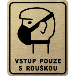 Piktogram VSTUP S ROUŠKOU 2...