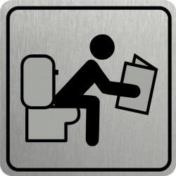 Piktogram WC 2 STR