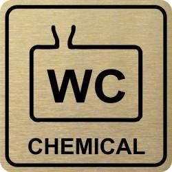 Piktogram WC CHEMICKÉ 1 ZL