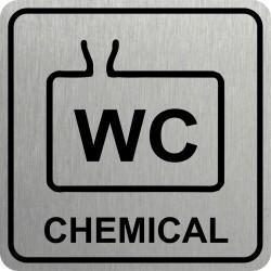 Piktogram WC CHEMICKÉ 1 STR