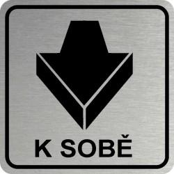 Piktogram DVEŘE K SOBĚ 2 STR