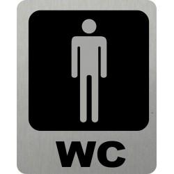 Piktogram WC MUŽI 5 STR LONG