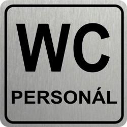 Piktogram WC PERSONÁL 1 STR