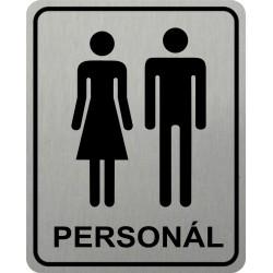 Piktogram WC PERSONÁL 2 STR...