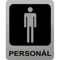Piktogram WC PERSONÁL MUŽI...