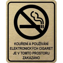 Piktogram ZÁKAZ KOUŘENÍ 6...