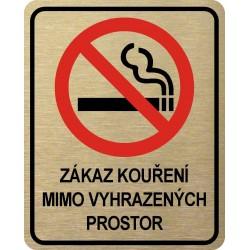Piktogram ZÁKAZ KOUŘENÍ 9...