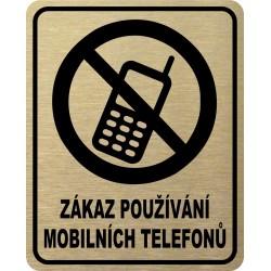 Piktogram ZÁKAZ MOBILŮ 2 ZL...