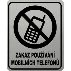Piktogram ZÁKAZ MOBILŮ 2...