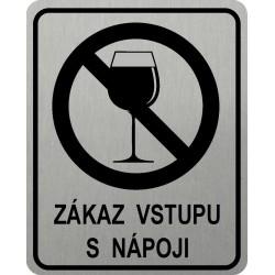 Piktogram ZÁKAZ VSTUPU S...
