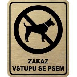 Piktogram ZÁKAZ VSTUPU SE...