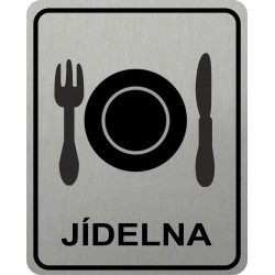 Piktogram JÍDELNA 4 STR LONG