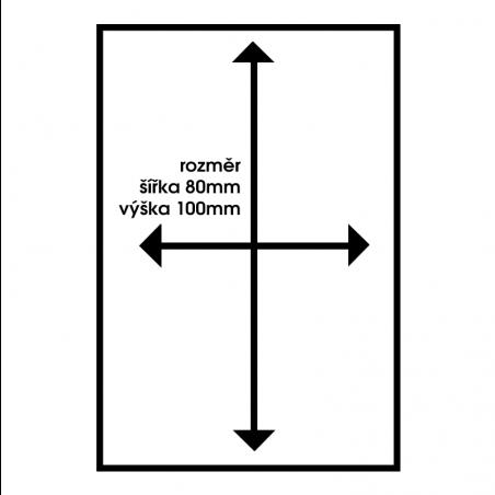 PROSTOR STŘEŽEN KAMEROVÝM SYSTÉMEM 3 - výstražná cedule
