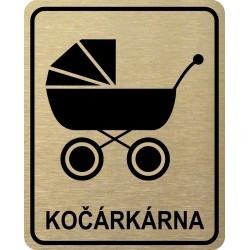Piktogram KOČÁRKÁRNA 2 ZL LONG
