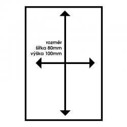 Piktogram WC muži PWMZL1