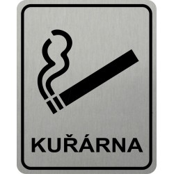 Piktogram KUŘÁRNA 2 STR LONG