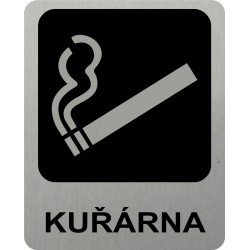 Piktogram KUŘÁRNA 3 STR LONG