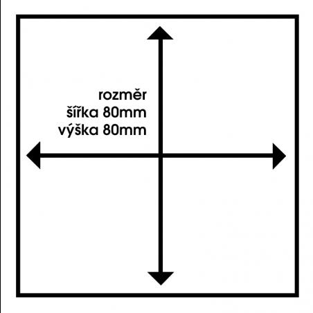 Piktogram NEPOVOLANÝM VSTUP ZAKÁZÁN NVZSL6