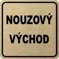 Piktogram NOUZOVÝ VÝCHOD 1 ZL