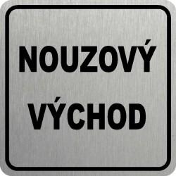 Piktogram NOUZOVÝ VÝCHOD 1 STR
