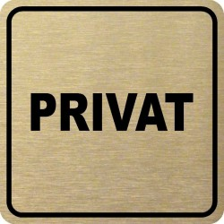 Piktogram PRIVAT 1 ZL