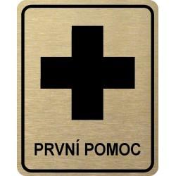 Piktogram PRVNÍ POMOC 2 ZL...