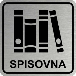 Piktogram SPISOVNA 2 STR