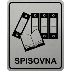 Piktogram SPISOVNA 4 STR LONG