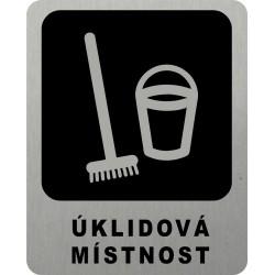 Piktogram ÚKLIDOVÁ MÍSTNOST...